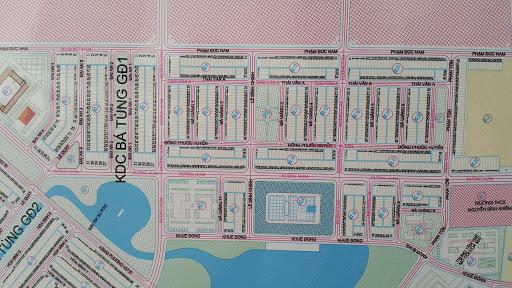 Bản đồ khu tái định cư Bá Tùng Đà Nẵng