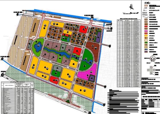 Bản đồ quy hoạch 1/500