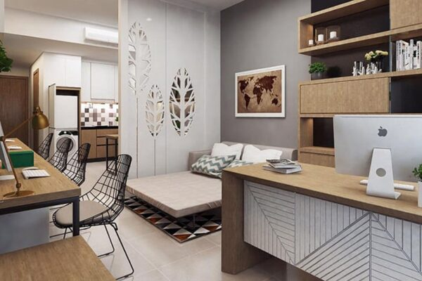 Bên trong căn hộ Officetel 2
