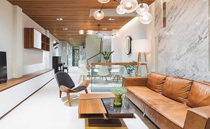 Mảnh đất nở hậu sẽ dễ dàng cho việc bố trí nội thất và công năng trong nhà