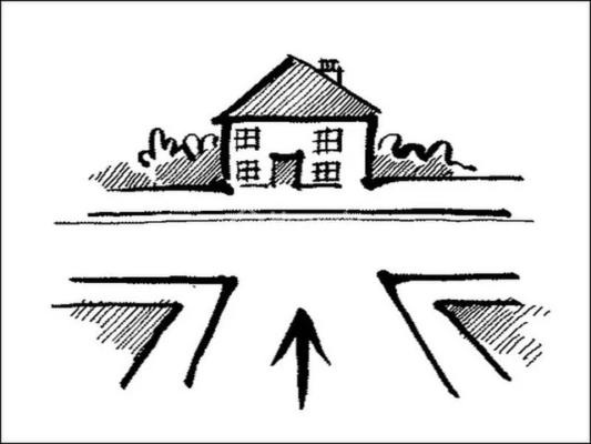 Nhà nằm ở trên dốc hoặc dưới dốc không mua