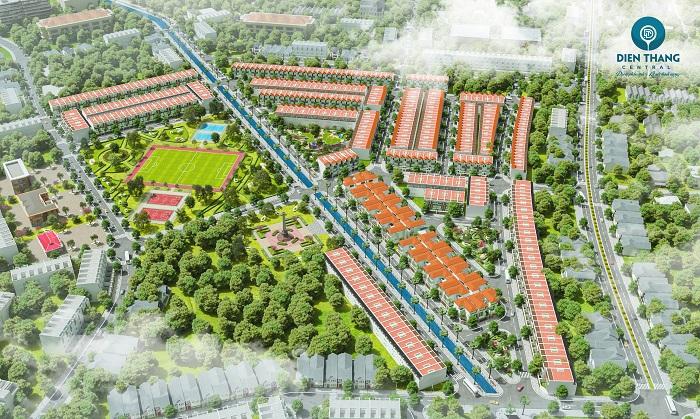 Slider phối cảnh dự án Điện Thắng Central