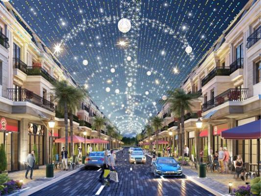 Phối cảnh phố thương mại Le Pavillon Đà Nẵng