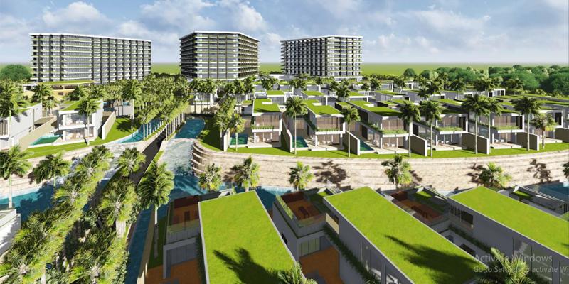 Phối cảnh dự án Shantira Beach Resort