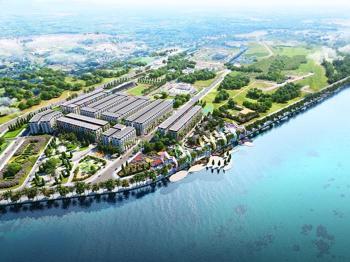 Phối cảnh Chu Lai Riverside