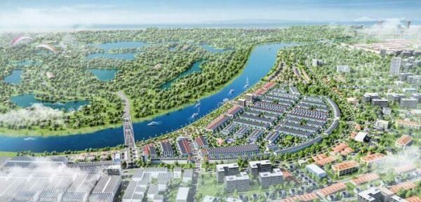 Phối cảnh dự án Mallorca River City