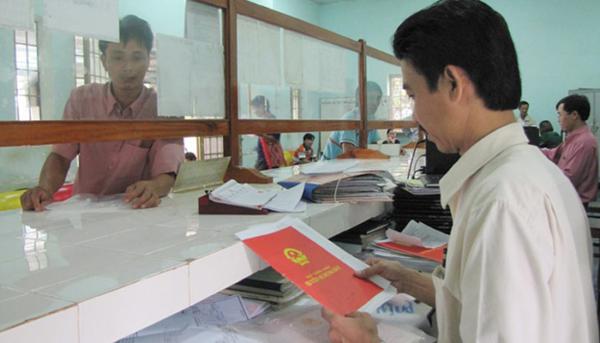 Quy trình cấp lại sổ đỏ / giấy chứng nhận quyền sử dụng đất