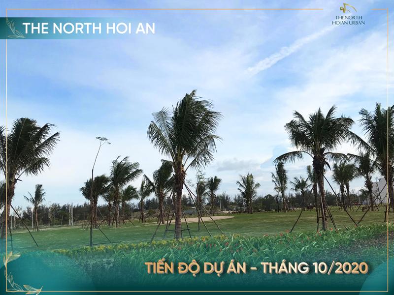 Tiến độ dự án The North Hoi An - T10/2020