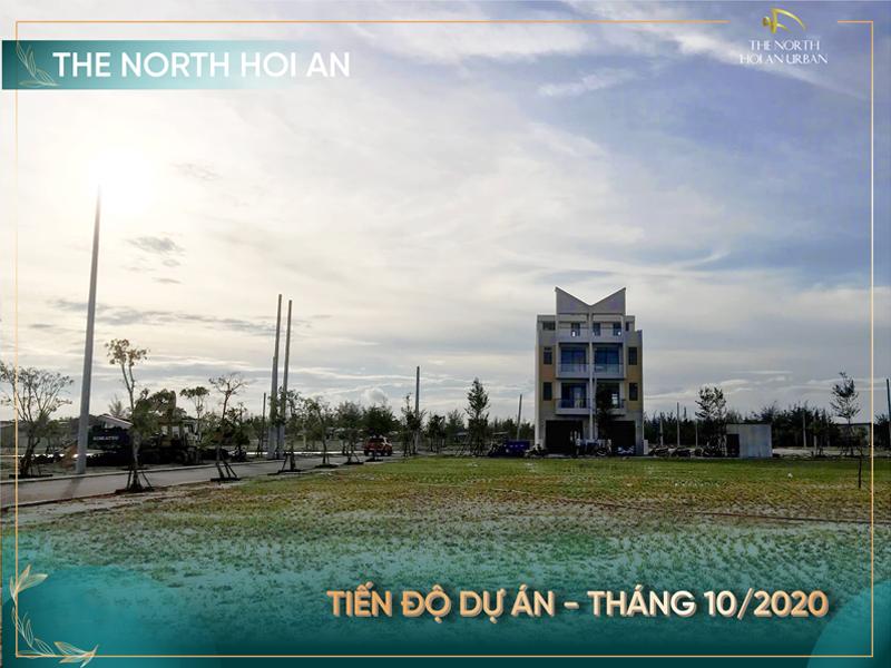 Tiến độ dự án The North Hoi An - T10/2020 - Hình 4