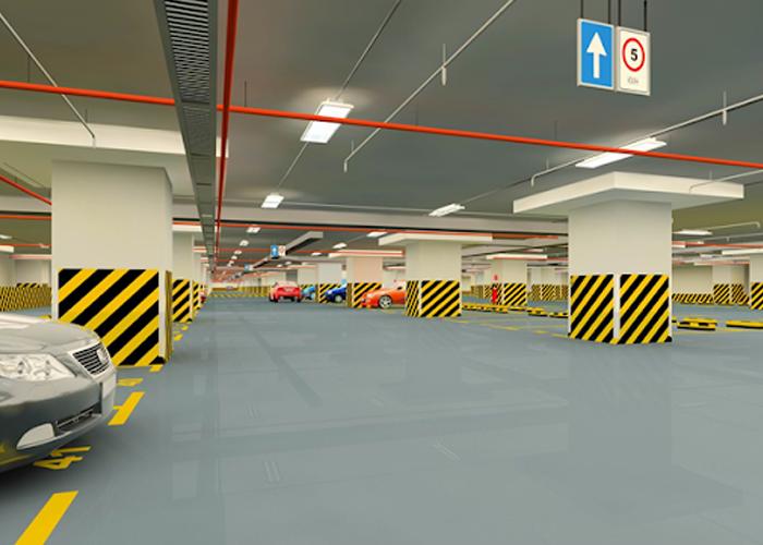 Tiêu chuẩn thiết bãi đổ xe chung cư