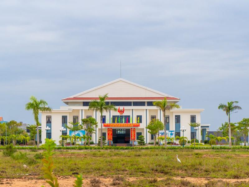UBND Huyện Tam Anh Nam đối diện dự án đảm bảo an ninh khu vực