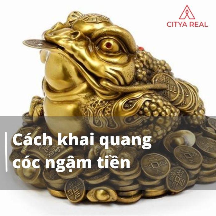 Cách Khai Quang Cóc Ngậm Tiền