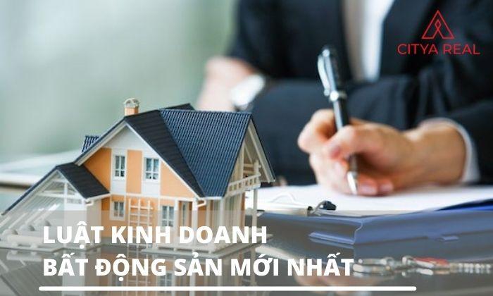 Luật kinh doanh bất động sản mới nhất