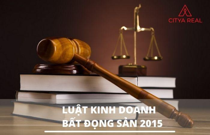 Luật kinh doanh bất động sản 2015