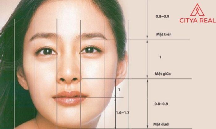 Khuôn mặt cân xứng