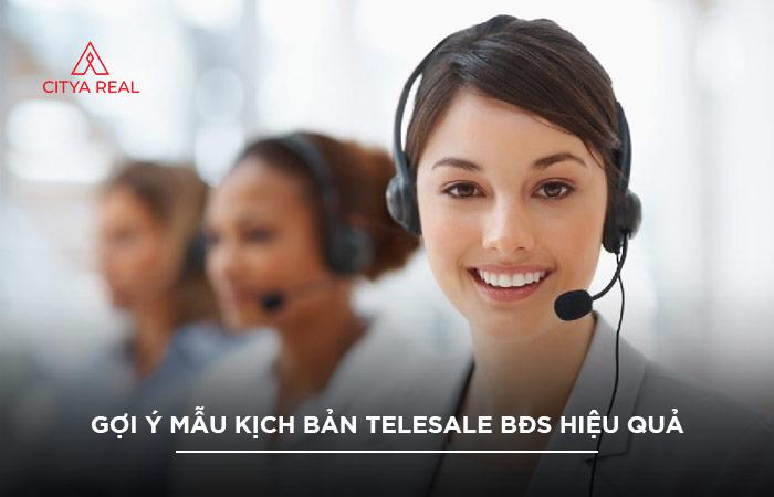Kịch Bản Telesale BĐs