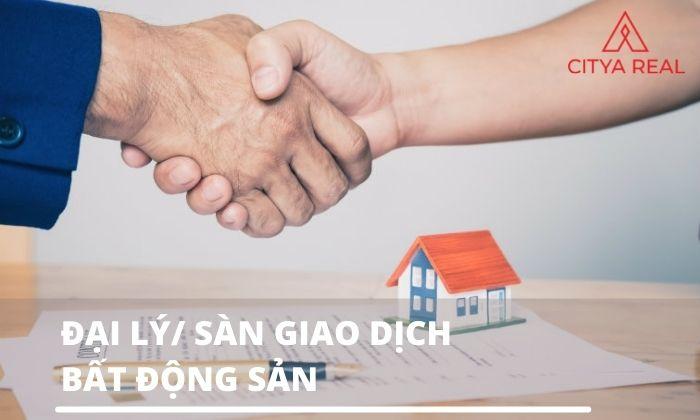 Đại lý hay sàn giao dịch bất động sản là ý nghĩa của Real estate agent